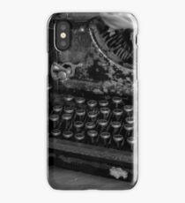 Typewriter iPhone Case/Skin