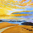 Golden Evening by Sesha