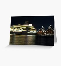 Sydney Opera House Performs Greeting Card