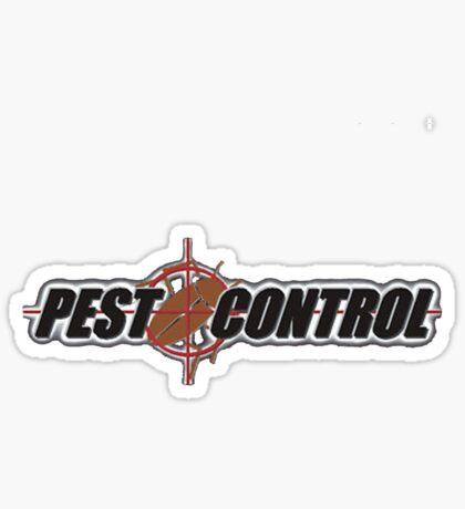 Pest Control Sticker
