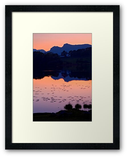 Loughrigg Tarn, The Lake District by Dave Lawrance