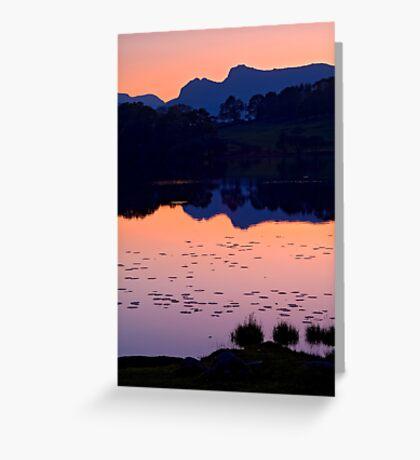 Loughrigg Tarn, The Lake District Greeting Card