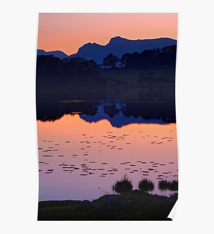 Loughrigg Tarn, The Lake District Poster
