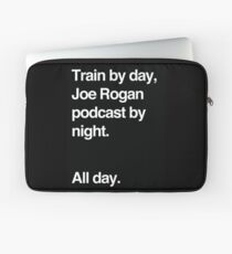 Train by day, Joe Rogan podcast by night - All Day - Nick Diaz - Helvetica Laptop Sleeve