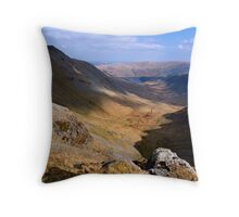 Riggindale from High Street - The Lake District Throw Pillow
