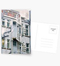 fire escape Postcards