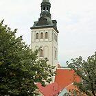 Tower in Tallinn by Natasha O'Connor