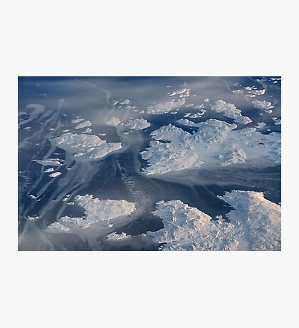 Canadian Ice Floes Photographic Print