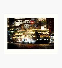 Sydney Harbour Evening Spectacular Art Print