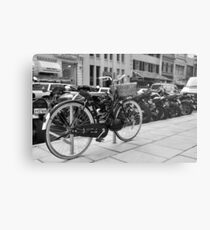 Pedal Power........with style! Metal Print