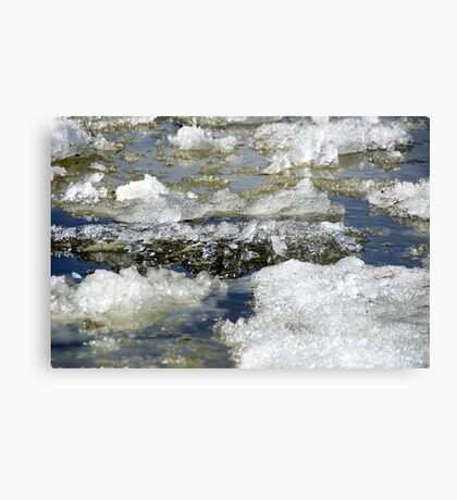 Ice run Metal Print