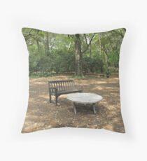Natures Livingroom Throw Pillow