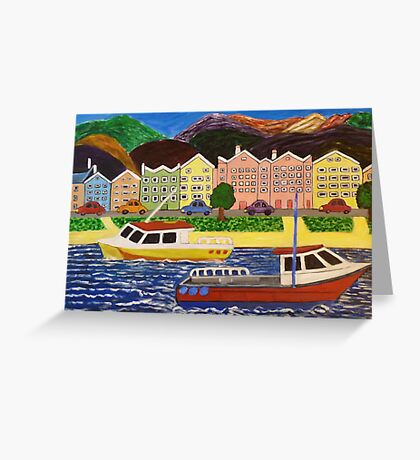 Country Travel Greeting Card