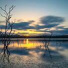 Lake Samsonvale Sunset by Adrian Alford Photography