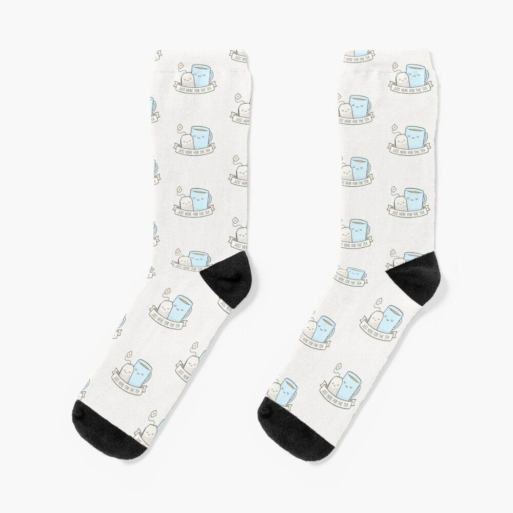 Just Here For The Tea Socks