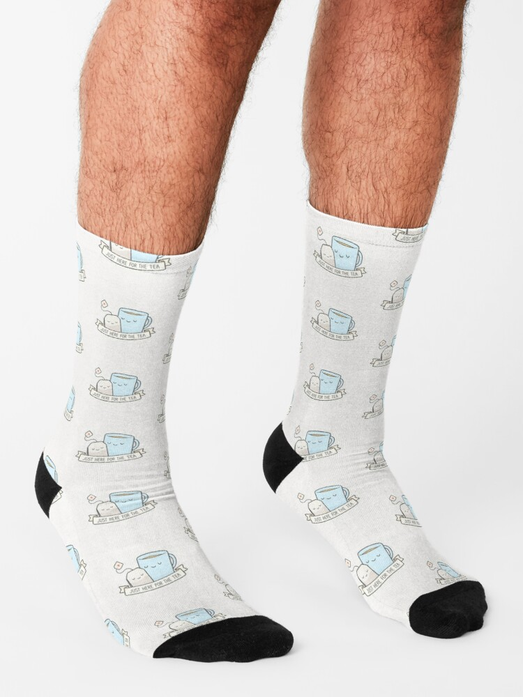Alternate view of Just Here For The Tea Socks