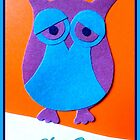 Sad Owl by ©The Creative  Minds