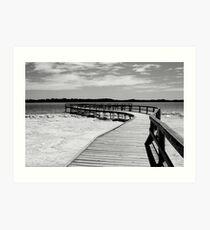 lake clifton Art Print