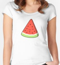 Watermelon Fitted Scoop T-Shirt