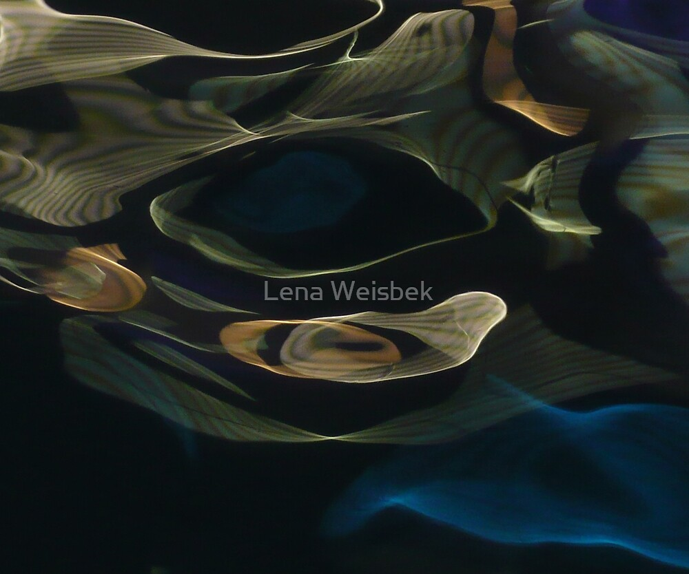 water abstract H2O # 31 by Lena Weiss