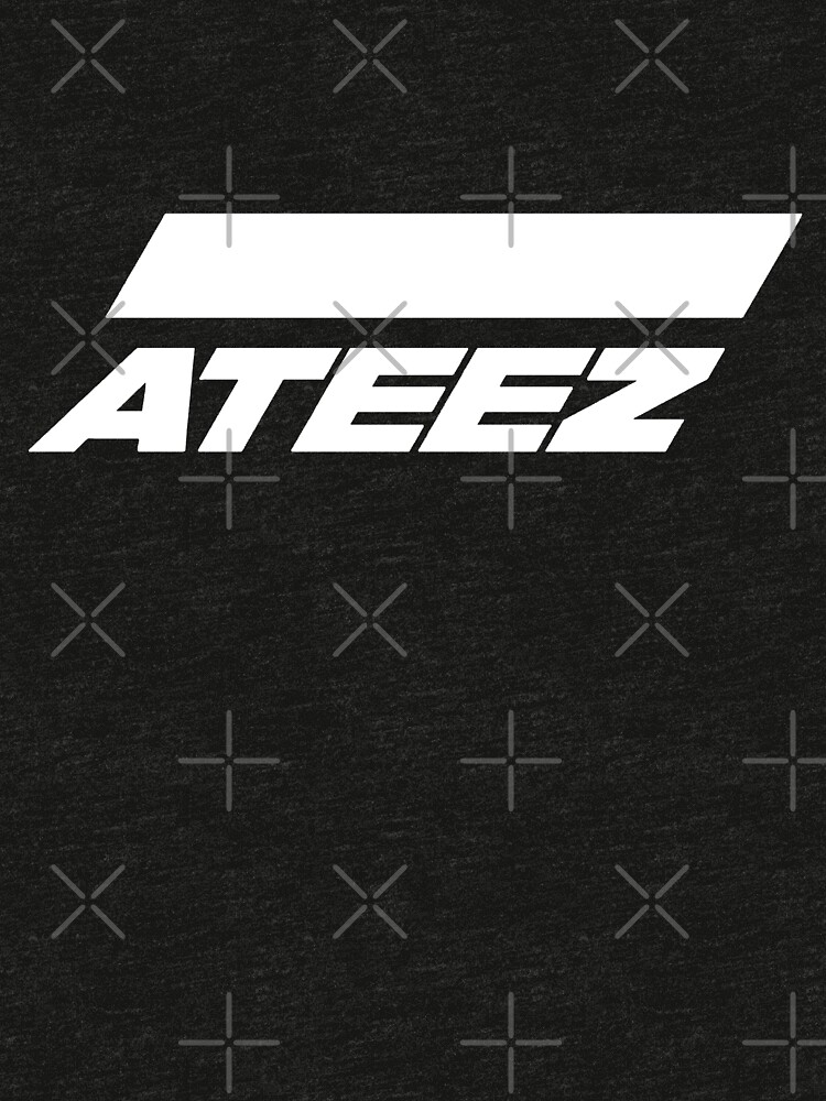 """""""ATEEZ Logo (White)"""" T-shirt by RoseHearts 
