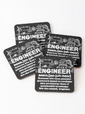 Engineer Humor Definition Coasters