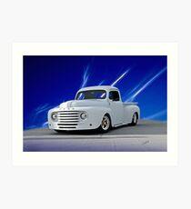 1948 Ford F1 Custom Pickup Art Print