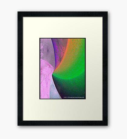 My Pixelated Dreamwork  Framed Print