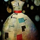 Not-To-Forget Paper Dress in the Window by Sonia de Macedo-Stewart