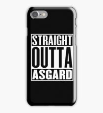 Straight Outta Asgard iPhone Case/Skin