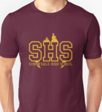 Buffy the Vampire Slayer Sunnydale High School Logo Femmes Ajusté T-Shirt