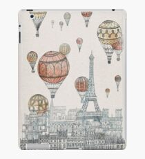 Voyages Over Paris iPad Case/Skin