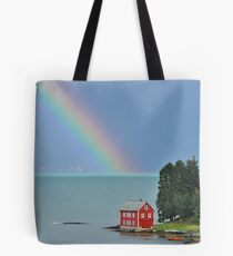 House by the Fjord 2 Tote Bag