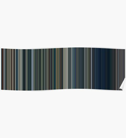 Moviebarcode: The Lord of the Rings: The Two Towers (2002) [Simplified Colors] Poster