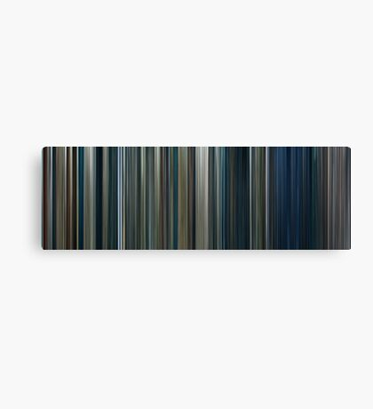 Moviebarcode: The Lord of the Rings: The Two Towers (2002) Canvas Print