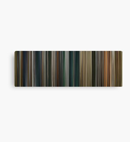 Moviebarcode: The Lord of the Rings: The Return of the King (2003) Canvas Print