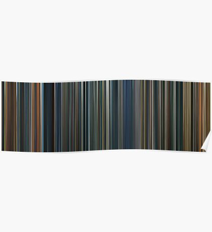 Moviebarcode: The Lord of the Rings Trilogy (2001-2003) Poster