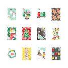 «Exo sellos de navidad» de sukaisooo