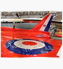 XR977 - RAF Cosford - HDR Poster