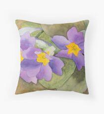 Forsyth Flowers Throw Pillow