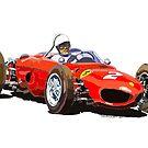 Ferrari Dino 156 1962  by Yuriy Shevchuk