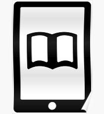 E Book Reader Poster