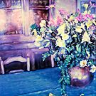 Flowers on the Table by Rene Hales
