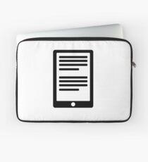 E-Book Reader Laptop Sleeve