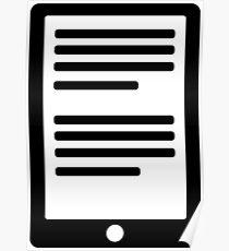 E-Book Reader Poster