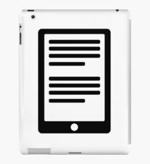 E-Book Reader iPad Case/Skin