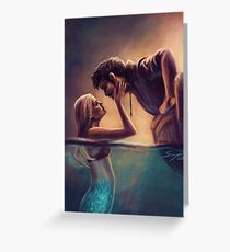 Captain Jones & The Mermaid Greeting Card