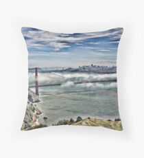 San Francisco View, San Francisco, CA Throw Pillow