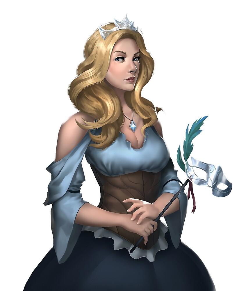 Queen Oleander Notthelm (Buried Goddess Saga) by aethonbooks