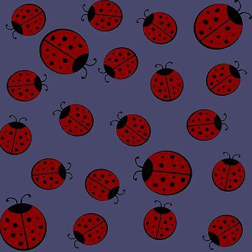 Ladybugs by OpenArt